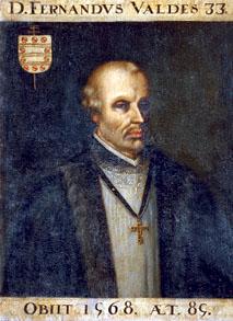 Arzobispo Fernando Valdés Salas