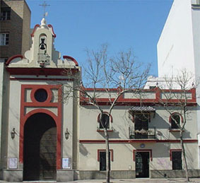 Fachada de nuestra Capilla, sede de nuestra Hermandad desde 1550.